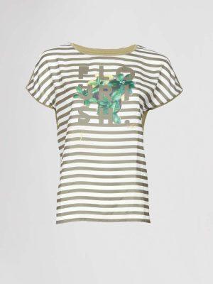 CatNoir T-Shirt Groen Print
