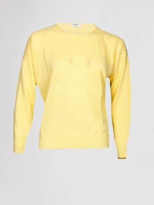 Peserico Pullover Geel