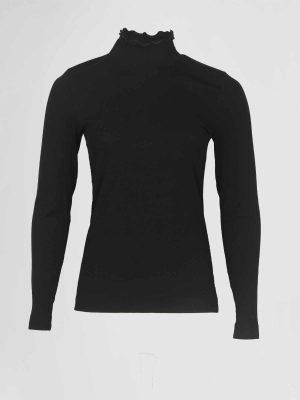 Efixelle Col Pullover Zwart