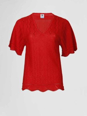 Missoni Pullover 2dn00330 Rood