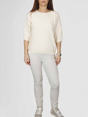 Peserico Pullover s99076f07 Vanille