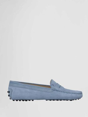 Tods Moccasin Gommini Lichtblauw