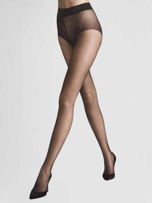 Wolford Pure 10 Nearly Black